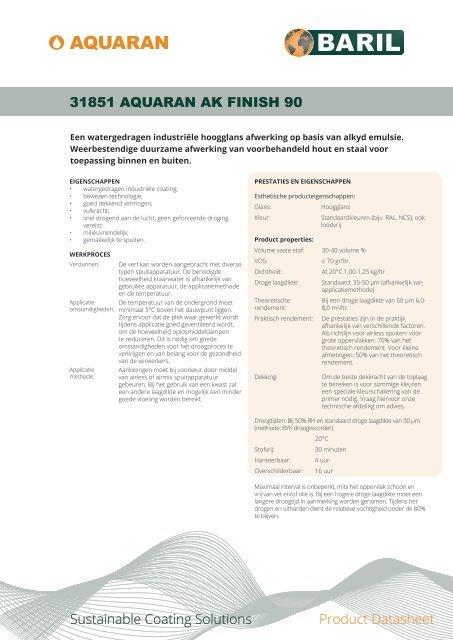 31851_AquaRan_AK_Finish_90_datasheet_NL