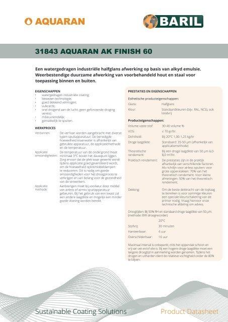 31843_AquaRan_AK_Finish_60_datasheet_NL
