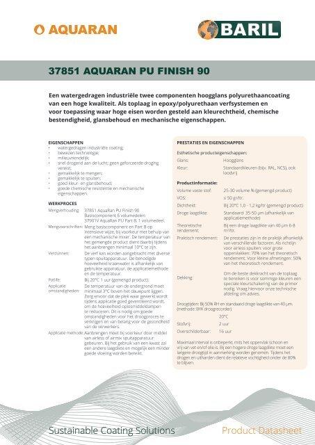 37851_AquaRan_PU_Finish_90_datasheet_NL