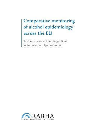 Comparative monitoring of alcohol epidemiology across the EU