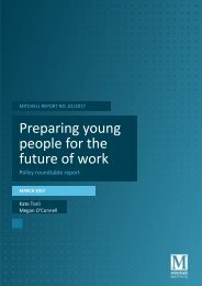 Preparing young people for the future of work
