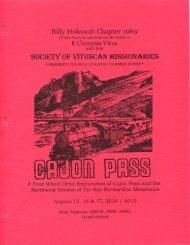 6019 Summer Vituscan Cajon Pass History