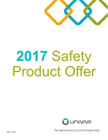 2017 Safety Product Offer