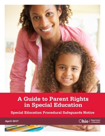 A Guide to Parent Rights in Special Education