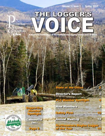Loggers Voice Spring 2017