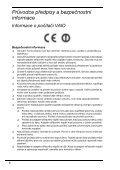 Sony VPCEE4J1E - VPCEE4J1E Documents de garantie Tchèque - Page 6