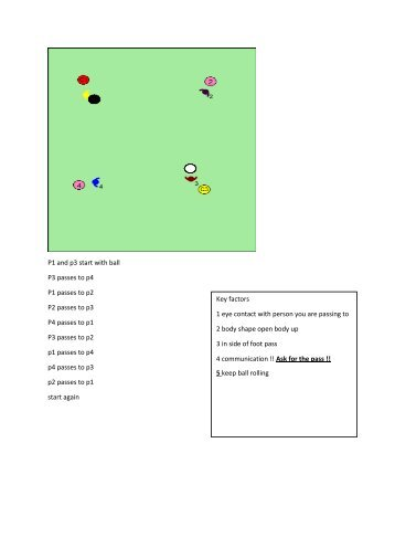 usc rec development L shape passing
