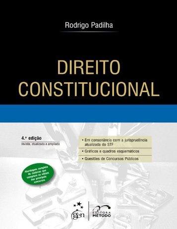Direito Constitucional - Rodrigo Padilha - 2014