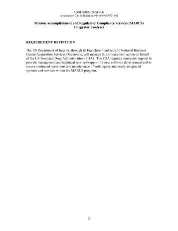 090909 RFP - MARCS Integrator Contract - Amendment 02