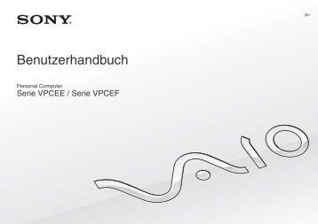 Sony VPCEE4J1E - VPCEE4J1E Mode d'emploi Allemand