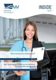 "Offene Hochschule in Niedersachsen – Zielgruppe ""Berufstätige"""