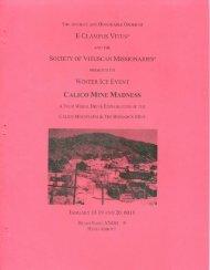 6018-2013 Winter Vituscan History Calico Mine Madness