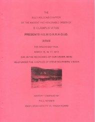6018-2013 HEMI XXVIII The Bradshaw Trail History
