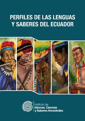 PERFILES DE LAS LENGUAS Y SABERES DEL ECUADOR