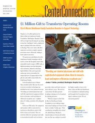 1 Million Gift to Transform Operating Rooms - Washington Hospital ...