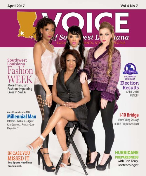 The Voice of Southwest Louisiana April 2017 Issue