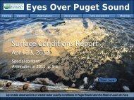 Eyes Over Puget Sound - Washington State Department of Ecology