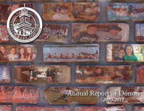Annual Report 2011-12:Layout 1.qxd - Pine Crest School