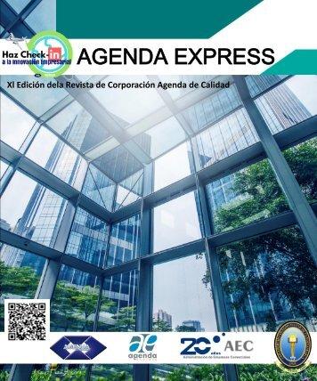 REVISTA AGENDA DE CALIDAD Xl VERSIÓN AGENDA EXPRESS