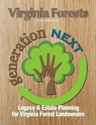 Legacy & Estate Planning for Virginia Forest Landowners