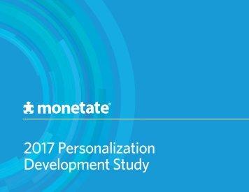 2017 Personalization Development Study