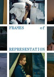 FRAMES of REPRESENTATION