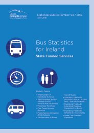 Bus Statistics for Ireland