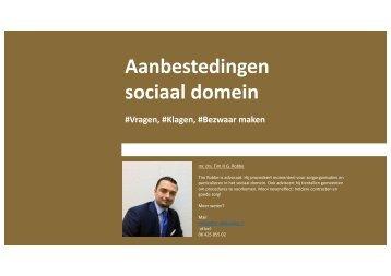 sociaal domein