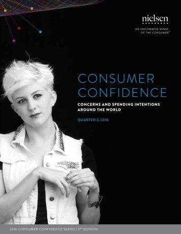 consumer confidence concerns and spending intentions