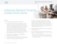 Enterprise Network Compute System 5400 Series