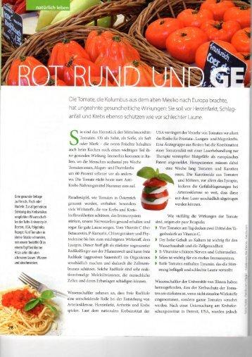 Rot rund und gesund - Mangostan