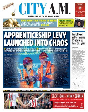 APPRENTICESHIP LEVY LAUNCHED INTO CHAOS