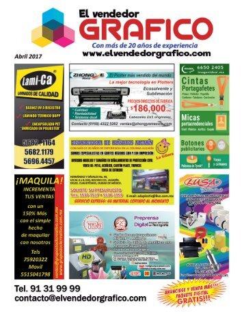 Revista El Vendedor Gráfico Abril 2017