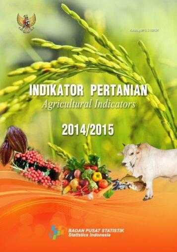 Indikator Pertanian 2014-2015