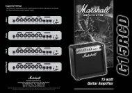MG15RCD - Marshall Amps