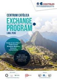 Brochure Intercambio