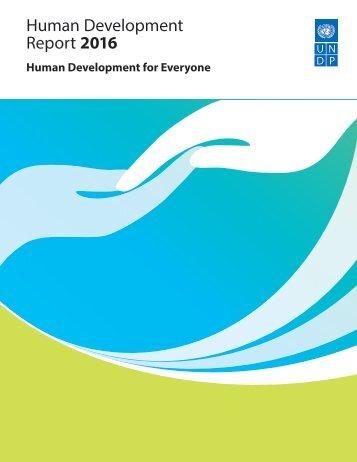 Human Development Report 2016