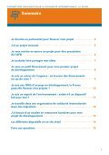 SUBVENTIONS PUBLIQUES POUR LA SOLIDARITÉ INTERNATIONALE  LE GUIDE - Page 3