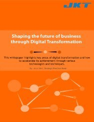 Shaping the Future of Business Through Digital Transformation