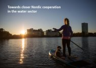 Towards closer Nordic cooperation in the water sector