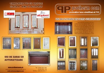 CATALOG PROTHERM