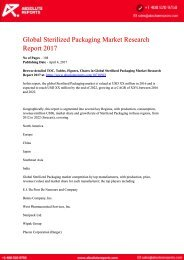 10710503-Global-Sterilized-Packaging-Market-Research-Report-2017