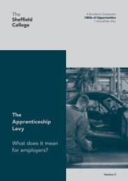 The Apprenticeship Levy What does it mean for employers?