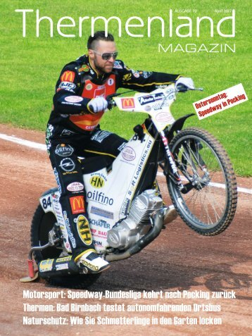 Thermenland Magazin April 2017