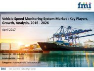 Vehicle Speed Monitoring System Market