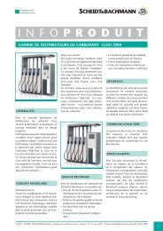 PRODUIT - SCHENK Systeme AG