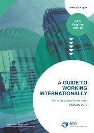 A GUIDE TO WORKING INTERNATIONALLY