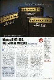 MG15 Series - Marshall Amps