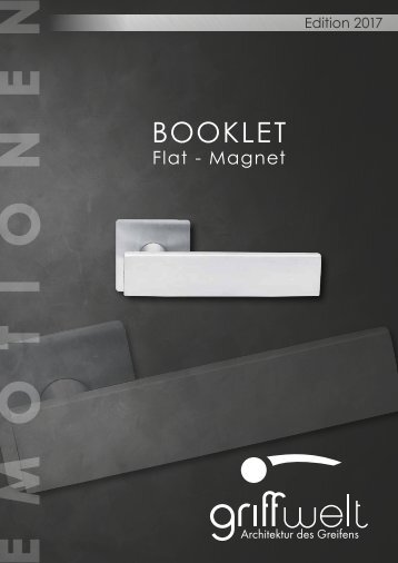 Booklet flat magnet ANSICHT