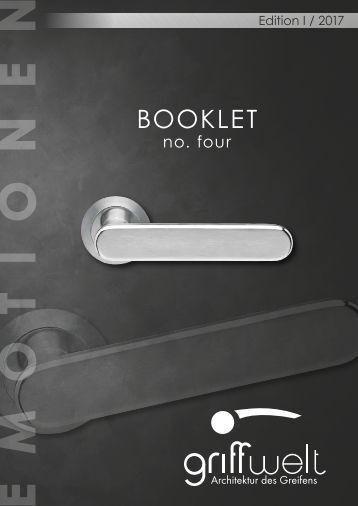 Booklet no four 2017
